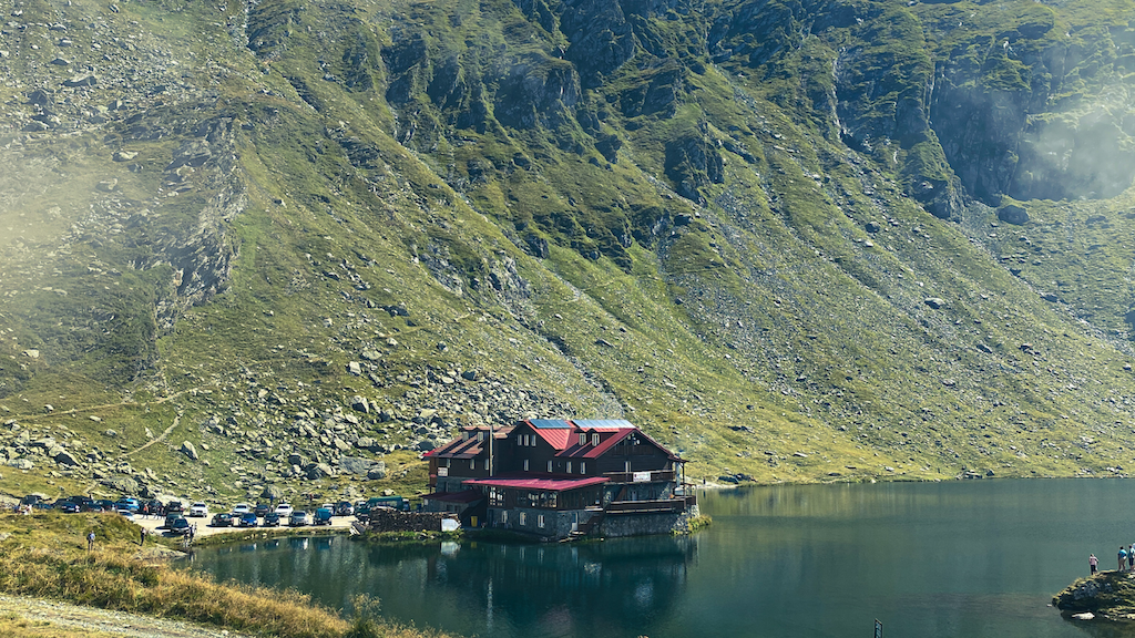 Balea Lake, Romania, lake, Transylvania, travel, Balea Lac